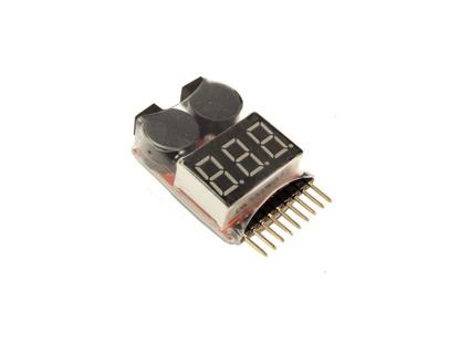 Picture of Pípák - monitor baterie s LED displejem 1-8S
