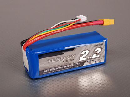 Picture of Baterie Li-Po Turnigy 2200mAh 4S1P 40C / 50C