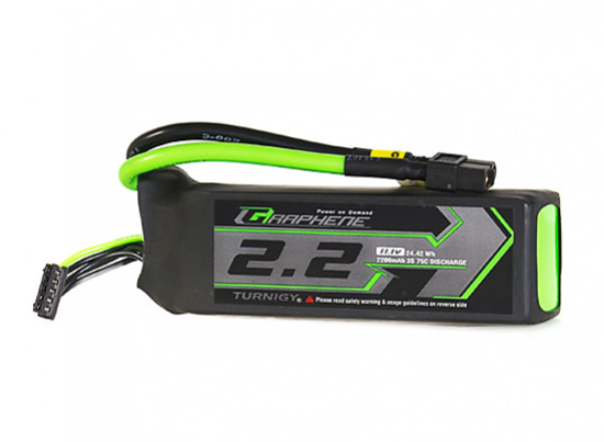 Picture of Turnigy Graphene Panther 2200mAh 3S 75C Battery Pack