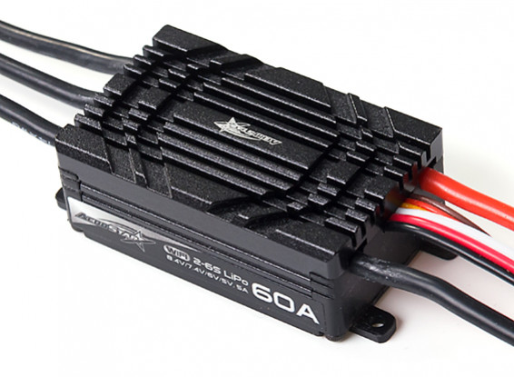 Picture of AeroStar WiFi 60A Brushless ESC with 5A BEC (2~6S)