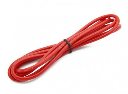 Picture of Kvalitní silikonový kabel Turnigy 14AWG - červený