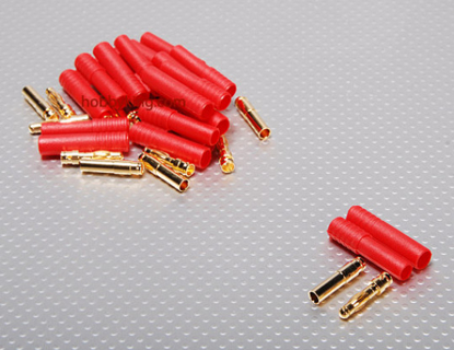 Picture of Konektor HXT 4.0 mm Gold - 93A