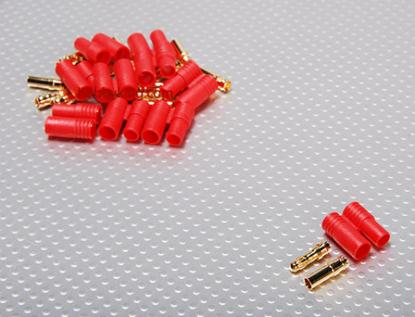 Picture of Konektor HXT 3.5 mm Gold - balíček 10 párů + plast