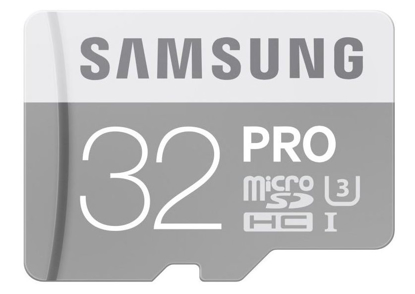 Picture of Samsung Micro SDHC PRO 32GB UHS-I U3 + SD adaptér