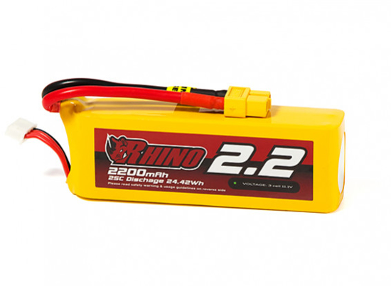 Picture of Baterie Li-Po Rhino 2200mAh 3S 25C XT60